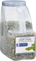McCormick® Culinary™ Sliced Dehydrated Celery Stalks 26 oz. Plastic Jug