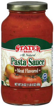 Stater Bros.® Meat Flavored Pasta Sauce 24 oz Jar