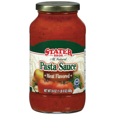 Stater Bros.® Meat Flavored Pasta Sauce 24 oz Jar