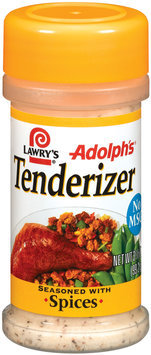 Adolph's Seasoned W/Spices Tenderizer 3.5 Oz Shaker