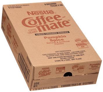 Nestlé Coffee-Mate Pumpkin Spice Liquid Coffee Creamer 50-0.375 fl. oz. Tubs