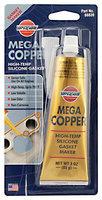 VersaChem® Mega Copper® High-Temp Silicon Gasket Maker 3 oz. Tube