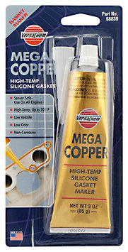VersaChem® Mega Copper® High-Temp Silicon Gasket Maker 3 oz. Tube