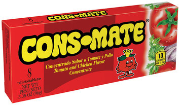 Cons-Mate® Tomato and Chicken Flavor Concentrate Tablets 8 ct Box