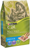 Purina Cat Chow Naturals Plus Vitamins & Minerals Indoor with Real Chicken & Turkey 50.4 oz. Bag