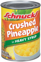 Schnucks In Heavy Syrup Crushed Pineapple 20 Oz Can