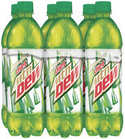 Caffeine Free Diet Mountain Dew® 6 Pack 24 fl. oz. Plastic Bottles