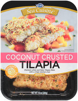 Sea Cuisine™ Coconut Crusted Tilapia 10 oz. Tray