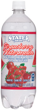 Stater Bros. Strawberry Watermellon Sparkling Water Beverage 1 L Plastic Bottle