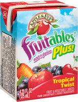 Apple & Eve® Fruitables® Plus! Tropical Twist 100% Juice 4.23 fl. oz. Box