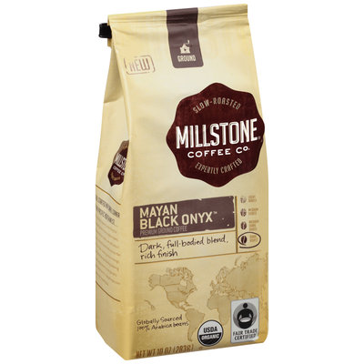 Millstone® Mayan Black Onyx™ Ground Organic Dark Roast Coffee 10 oz. Bag