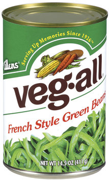 Veg-All French Style Green Beans 14.5 Oz Can