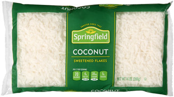Springfield® Sweetened Coconut Flakes 14 oz. Bag