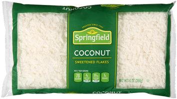 Springfield® Sweetened Coconut Flakes 14 oz. Bag