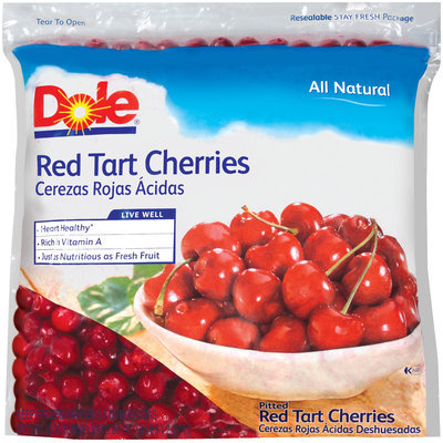 Dole All Natural Red Tart Cherries