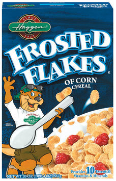 Haggen Frosted Flakes Cereal 20 Oz Box