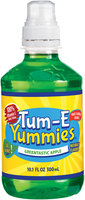 Tum-E Yummies Greentastic Apple Flavored Beverage 10.1 oz Plastic Bottle