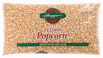 Haggen Yellow Popcorn 64 Oz Bag