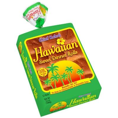 Chief Kahai™ Hawaiian Sweet Dinner Rolls 12 ct Bag