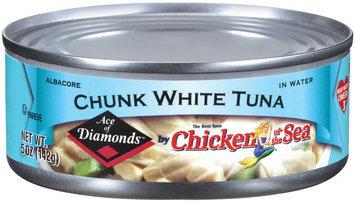 Chicken of the Sea Ace of Diamonds Chuck White Tuna