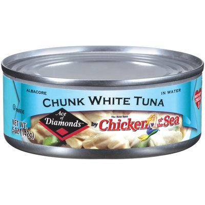 Chicken of the Sea Ace of Diamonds Chuck White Tuna 5 oz Can