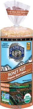 Lundberg Family Farms® Honey Nut Organic Rice Cakes 9.6 oz. Bag