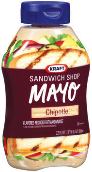 Kraft Mayo Sandwich Shop Chipotle Mayonnaise 22 Oz Squeeze Bottle