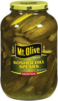 Mt. Olive Kosher Dill Spears Fresh Pack Pickles