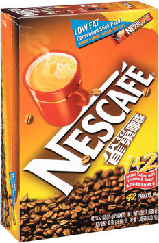 Nescafe® 1 + 2 Instant Coffee with Creamer & Sugar 42-0.52 oz. Packets