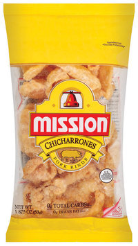 Mission Chicharrones Pork Rinds 1.875 Oz Bag