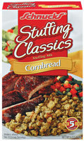 Schnucks Stuffing Classics Cornbread Stuffing Mix 6 Oz Box