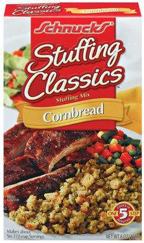 Schnucks Stuffing Classics Cornbread Stuffing Mix 6 Oz Box