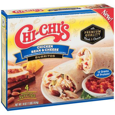 Chi-Chi's™ Chicken Bean & Cheese Burritos 4 ct. Box