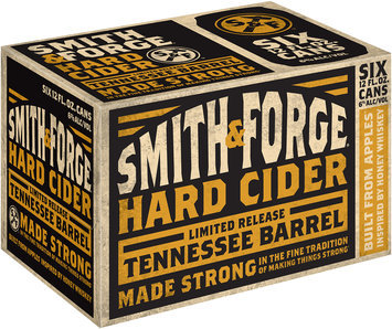 Smith and Forge® Tennessee Barrel Hard Cider 6-12 fl. oz. Cans