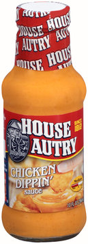 House Autry® Chicken Dippin' Sauce 10 fl. oz. Glass Bottle