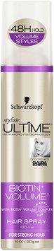 Schwarzkopf Styliste Ultime® Biotin+ Volume™ Hair Spray 10 oz. Aerosol Can