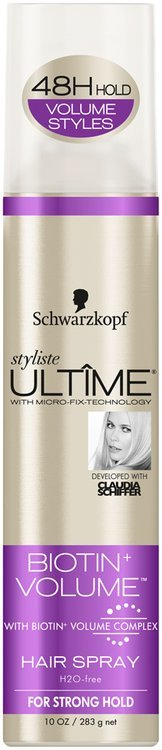 Schwarzkopf Styliste Ultime® Biotin+ Volume™ Hair Spray 10 oz. Aerosol Can