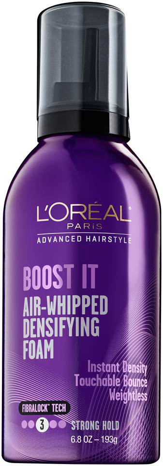 L'Oréal® Paris Advanced Hairstyle Boost It Plumping Foam 6.8 oz. Aerosol Can