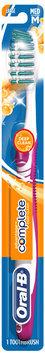 Oral-B Complete Deep Clean Large Head Medium Bristles Toothbrush Carded Pack