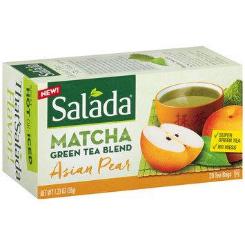 Salada® Asian Pear Matcha Green Tea Blend Tea Bags 1.23 oz. Box