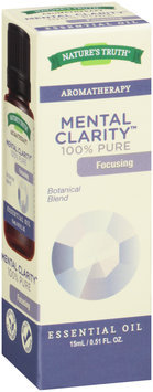 Nature's Truth® Aromatherapy Mental Clarity™ 100% Pure Essential Oil 0.51 fl. oz. Box