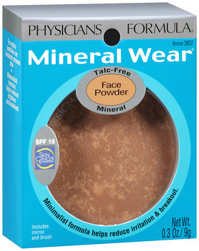 Mineral Wear® Bronzer Mineral Face Powder SPF 16 0.3 oz. Package