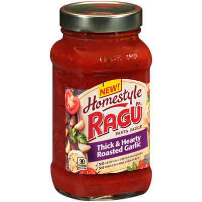 Ragu® Homestyle Thick & Hearty Roasted Garlic Pasta Sauce 23 oz. Jar