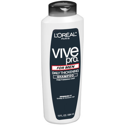 Vive Pro for Men Daily Thickening Shampoo 13 fl. oz. Plastic Bottle