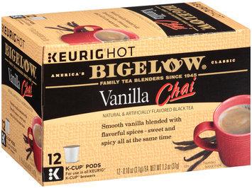 Keurig® Hot Bigelow® Vanilla Chai Black Tea 12-0.10 oz Box