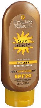 Sun Shield® Self-Adjusting Sunless Tanning Lotion SPF 20 6 fl. oz. Bottle