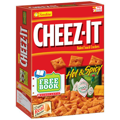 Cheez-It® Hot & Spicy Baked Snack Crackers