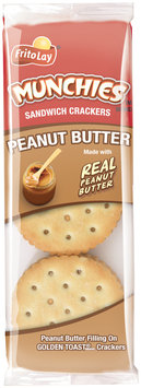 Munchies® Peanut Butter on Toast® Sandwich Crackers 1.42 oz. Pack