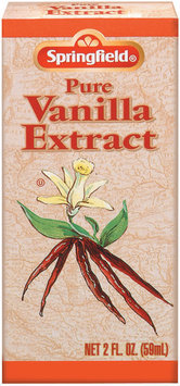 Springfield Pure Vanilla Extract 2 Oz Box