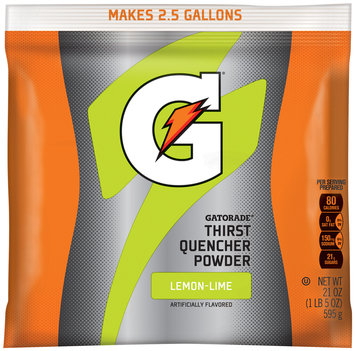 Gatorade® G® Series Perform Lemon-Lime Sports Drink Powder 21 oz. Pouch